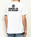 Element PTTP Branch camiseta blanca