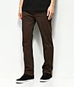 Element Sawyer pantalones casuales en marrón