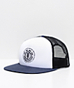 Element Seal White, Navy & Black Mesh Trucker Hat
