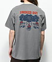 Element Smoke camiseta gris