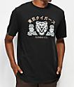 Element Tokyo Tigers Black T-Shirt