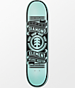 "Element X Diamond Supply Co Nyjah Huston 8.0""  Skateboard Deck"