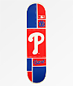 "Element x MLB Philadelphia Phillies Square 8.0"" Skateboard Deck"