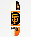 "Element x MLB San Francisco Giants Circle 8.0"" Skateboard Deck"