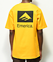 Emerica Brand Combo Gold T-Shirt
