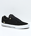 Emerica Reynolds 3 G6 Vulc Black & White Skate Shoes