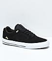 Emerica Reynolds 3 G6 Vulc zapatos de skate negros y blancos