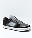 Emerica Reynolds G6 Black & Grey Suede Skate Shoes