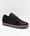 Emerica Reynolds G6 Black & Gum Suede Skate Shoes
