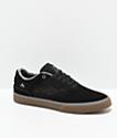 Emerica Reynolds Low Vulc Black, Gum & Blue Skate Shoes