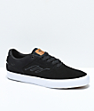 Emerica Reynolds Vulc Low zapatos de skate en negro, blanco y marrón