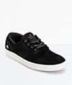 Emerica Romero Laced zapatos de skate de gamuza negro y blanco