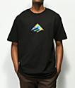 Emerica Triangle camiseta negra