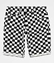 Empyre Albany Checker Denim Shorts