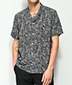 Empyre Andrew Black & White Floral Woven Shirt