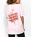 Empyre Annettey Loves Me Pink T-Shirt