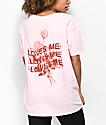 Empyre Annettey Loves Me camiseta rosa