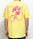 Empyre Ardent Rose camiseta en color amarillo