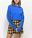 Empyre Ariana Lupine sudadera con capucha azul