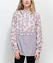 Empyre Aveline Floral Camo Windbreaker Jacket