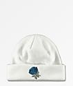 Empyre Blue Rose White Beanie