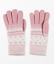 Empyre Blush Chenille Gloves