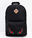 Empyre Brenda Roses Black Backpack