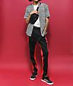 Empyre Brian camisa de guepardo negro y blanco