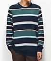 Empyre Brock Striped Crew Neck Sweater