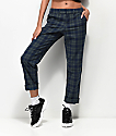 Empyre Caelie Green Plaid Pants