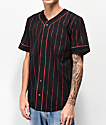 Empyre Chuck Black & Red Baseball Jersey