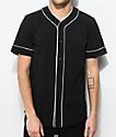 Empyre Chuck jersey de béisbol en negro y blanco