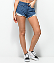 Empyre Cleo Medium Wash Cheekie Denim Shorts