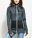 Empyre Delridge Navy Zip Up Fleece Jacket