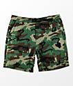 Empyre Dixon Camo Elastic Waist Shorts