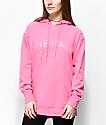 Empyre Dottie Nevermind Pink Hoodie