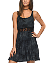 Empyre Estella Insert Black Tie Dye Dress