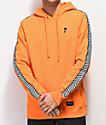 Empyre Final Lap sudadera con capucha naranja