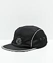 Empyre Flatbrush Black Strapback Hat