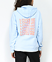 Empyre Fredia Love Me Not Blue Hoodie