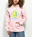 Empyre Fredia Smile Face Pink Hoodie