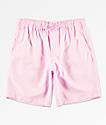 Empyre Grom Pink Elastic Waist Board Shorts