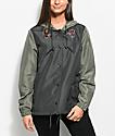 Empyre Jacinta Rose Olive Coaches Jacket