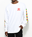 Empyre Jam Rock White Long Sleeve T-Shirt