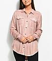 Empyre Jamie  camisa con pigmento rosa claro