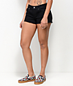 Empyre Jenna Distressed Black Shorts