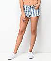 Empyre Jenna Indigo Stripe Jean Shorts