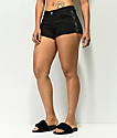 Empyre Jenna Side Zip Black Shorts