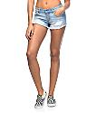 Empyre Jenna shorts rotos en lavado claro