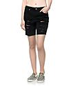 Empyre Kali shorts negros rotos